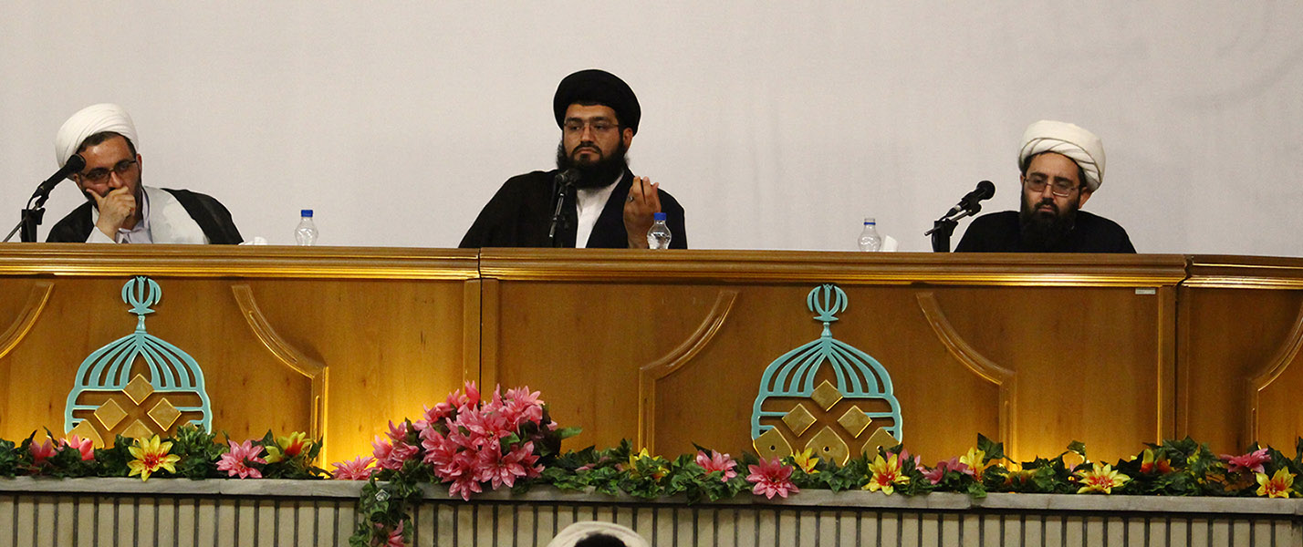 """تقيم الدائرة العامّة للبحوث في جامعة """"العدالة"""" (بإيران) سلسلة محاضرات حول موضوع فقه النظريّات الإسلامية و التنظيم الفقهي"""